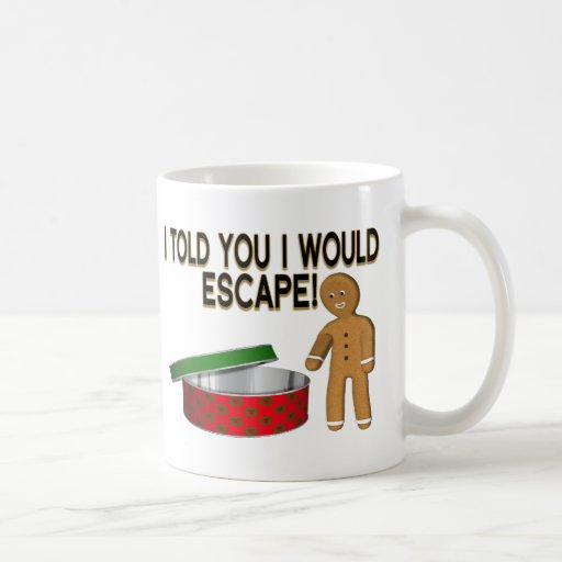 Cookie Escape Basic White Mug