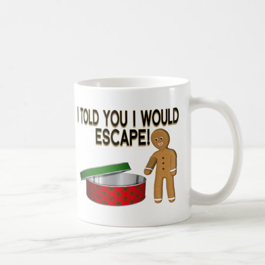 Cookie Escape Coffee Mug