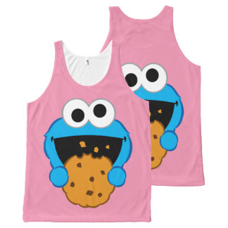 Cookie Face All-Over Print Tank Top