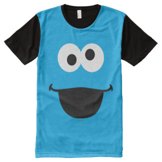 Cookie Face Art All-Over Print T-Shirt