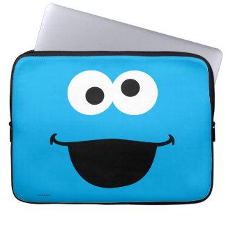 Cookie Face Art Laptop Sleeve