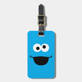 Cookie Face Art Luggage Tag