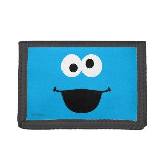 Cookie Face Art Tri-fold Wallet