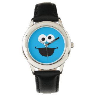 Cookie Face Art Watch