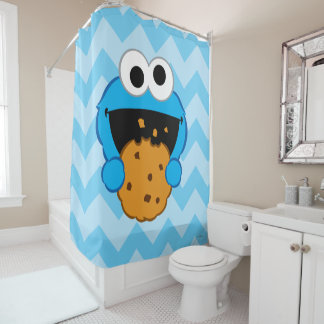 Cookie Face Shower Curtain