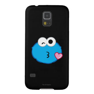 Cookie Face Throwing a Kiss Galaxy S5 Cases