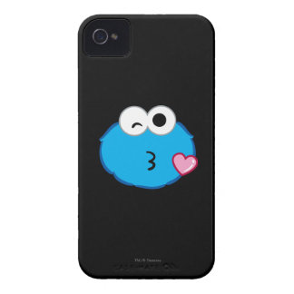 Cookie Face Throwing a Kiss iPhone 4 Case