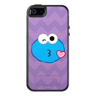 Cookie Face Throwing a Kiss OtterBox iPhone 5/5s/SE Case