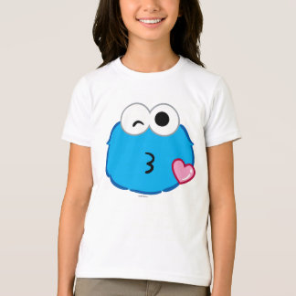 Cookie Face Throwing a Kiss T-Shirt