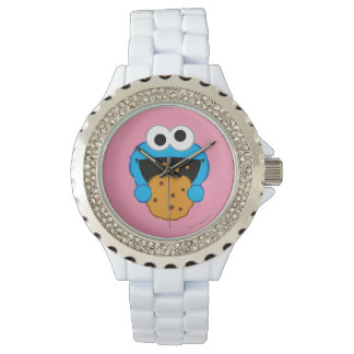 Cookie Face Wristwatch