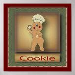 Cookie Gingerbread Man | Original Poster
