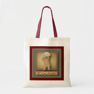 Cookie Gingerbread Man Budget Tote Bag