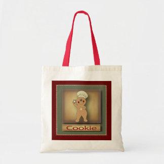 Cookie Gingerbread Man Budget Tote Bag