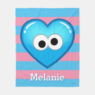 Cookie Heart | Add Your Name Fleece Blanket