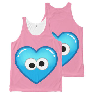 Cookie Heart All-Over Print Tank Top