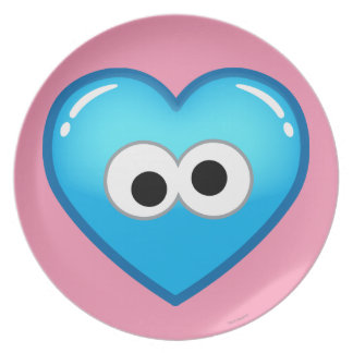 Cookie Heart Plate