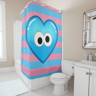 Cookie Heart Shower Curtain