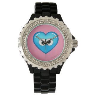Cookie Heart Wrist Watches