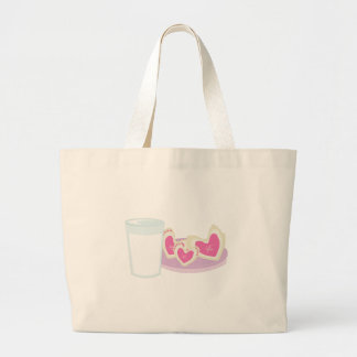 Cookie Hearts Canvas Bag