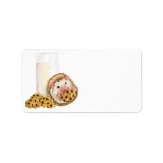 Cookie Hog Address Label
