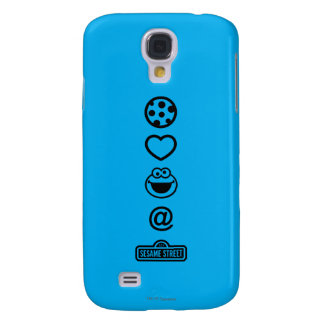 Cookie Love Cookie Monster Galaxy S4 Case