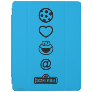 Cookie Love Cookie Monster iPad Cover