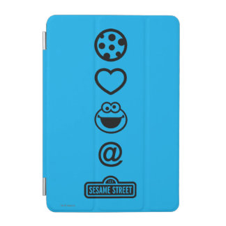 Cookie Love Cookie Monster iPad Mini Cover