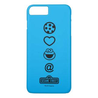 Cookie Love Cookie Monster iPhone 8 Plus/7 Plus Case