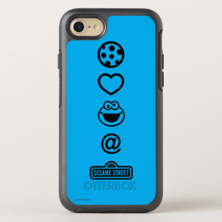 Cookie Love Cookie Monster OtterBox Symmetry iPhone 8/7 Case