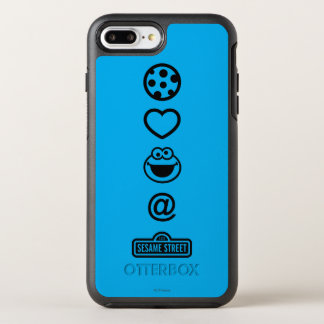 Cookie Love Cookie Monster OtterBox Symmetry iPhone 8 Plus/7 Plus Case