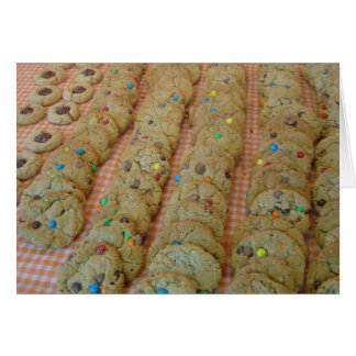 Cookie Making Blank Note Card