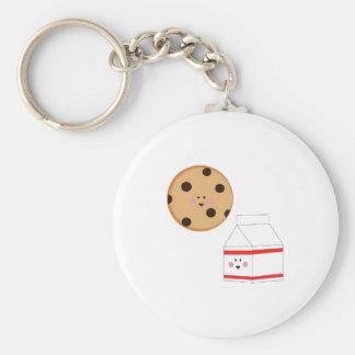Cookie & Milk Keychains
