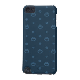 Cookie Monster and Cookies Blue Navy Pattern iPod Touch (5th Generation) Covers