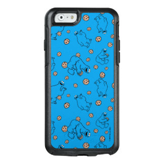 Cookie Monster and Cookies Blue Pattern OtterBox iPhone 6/6s Case