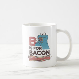 Cookie Monster | B is for Bacon Coffee Mug