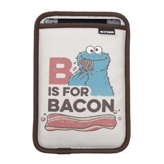 Cookie Monster | B is for Bacon iPad Mini Sleeve