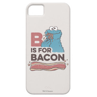 Cookie Monster   B is for Bacon iPhone 5 Cases