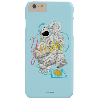 Cookie Monster B&W Sketch Drawing Barely There iPhone 6 Plus Case