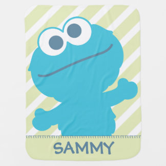 Cookie Monster Baby Body Baby Blanket