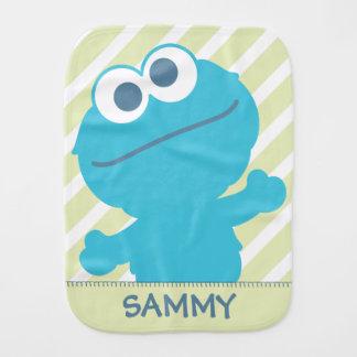 Cookie Monster Baby Body Baby Burp Cloths