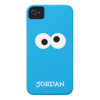 Cookie Monster Big Face | Add Your Name iPhone 4 Case-Mate Cases