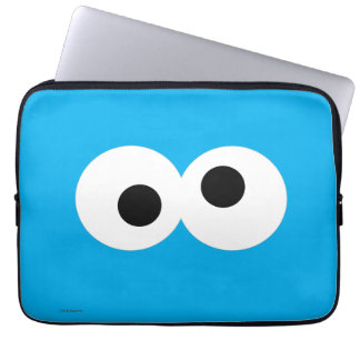 Cookie Monster Big Face Laptop Sleeve