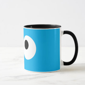 Cookie Monster Big Face Mug
