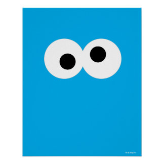 Cookie Monster Big Face Poster