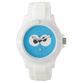 Cookie Monster Big Face Wristwatch