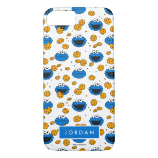 Cookie Monster   C is for Cookie Pattern iPhone 8/7 Case