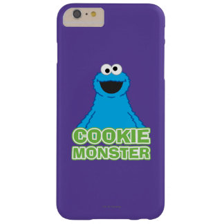 Cookie Monster Character Art Barely There iPhone 6 Plus Case