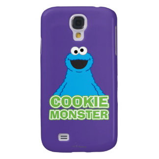 Cookie Monster Character Art Galaxy S4 Case