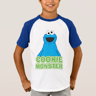 Cookie Monster Character Art T-Shirt