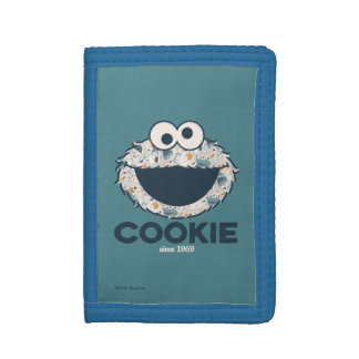 Cookie Monster | Cookie Since 1969 Trifold Wallet